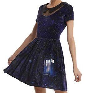 Doctor Who TARDIS velvet dress